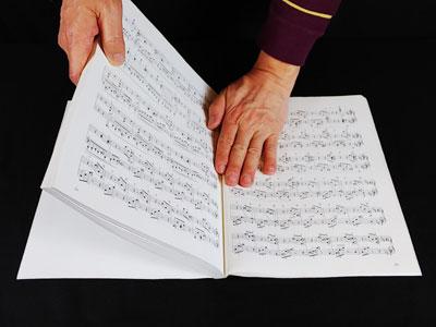 楽譜 4~5ページずつ癖付け